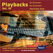 CD-Cover von Drummer-Playalong-CD 10