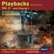 CD-Cover von Drummer-Playalong-CD 2