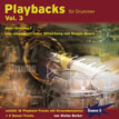 CD-Cover von Drummer-Playalong-CD 3
