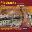 CD-Cover von Drummer-Playalong-CD 6
