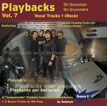 CD-Cover von Drummer-Playalong-CD 7